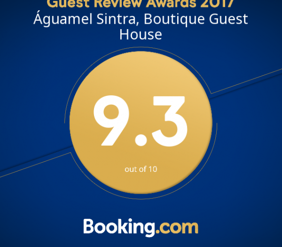 Guest Review Award 2017 do Booking.com