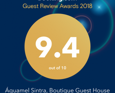 Guest Review Award 2018 do Booking.com