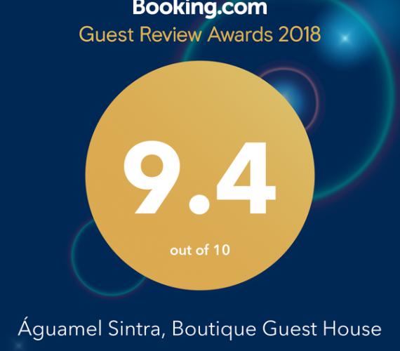 Guest Review Award 2018 do Booking.com