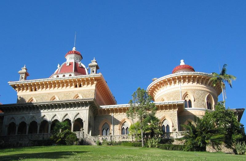 vista para o palacio monserrate